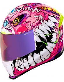 Icon AirFrame Pro Helmet Beastie Bunny Pink