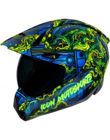 Icon Variant Pro Helmet Willy Pete Blue