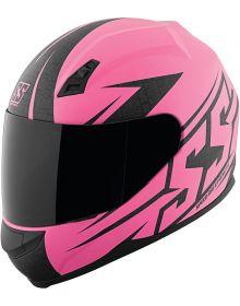 Speed and Strength SS700 Hammer Down Helmet Matte Pink