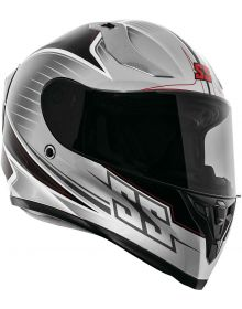 Speed and Strength SS2100 Track Day Helmet Black/Gray