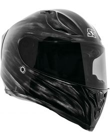 Speed and Strength SS2100 Solid Speed Helmet Grunged Black