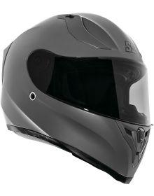 Speed and Strength SS2100 Solid Speed Helmet Matte Gunmetal Gray