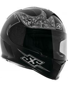 Speed and Strength SS900 Scrolls Helmet Matte Black/Gray