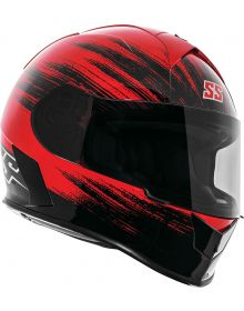 Speed and Strength SS900 Evader Helmet Red