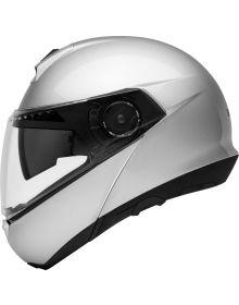 Schuberth C4 Modular Helmet Silver