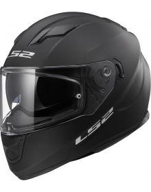 LS2 Helmets Stream Helmet Solid Matte Black