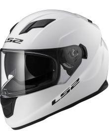 LS2 Helmets Stream Helmet Solid White
