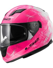 LS2 Helmets Stream Helmet Wind White/Pink