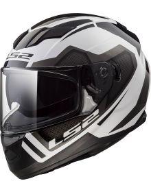 LS2 Helmets Stream Helmet Axis White/Silver