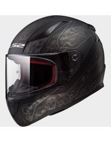 LS2 Helmets Rapid Helmet Crypt Matte Black