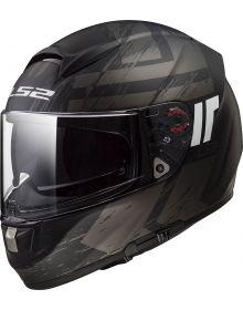 LS2 Helmets Citation Hunter Full Face Motorcycle Helmet with Sunshield Matte Bla