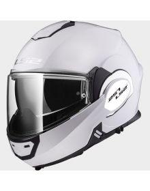 LS2 Helmets Valiant Modular Helmet Gloss White