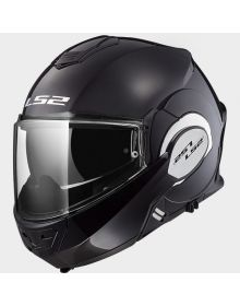 LS2 Helmets Valiant Modular Helmet Black Chrome