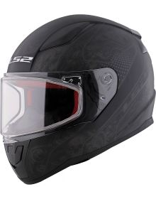 LS2 Helmets Rapid Mini Helmet Matte Black