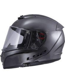 LS2 Helmets Breaker Helmet Brushed Alloy