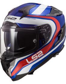 LS2 Helmets Challenger GT Helmet Fusion Blue/Red