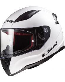 LS2 Helmets Rapid Helmet Solid Gloss White