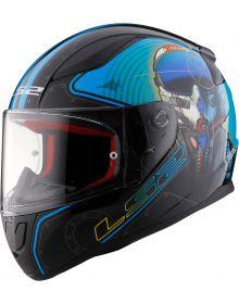 LS2 Helmets Rapid Helmet Mach II Fighter Pilot