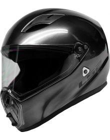 LS2 Street Fighter Helmet Brushed Alloy