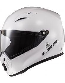 LS2 Street Fighter Helmet White
