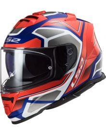 LS2 Assault Petra Helmet Gloss Red/Blue/Graphite
