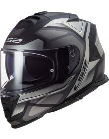 LS2 Assault Petra Helmet Matte Black/Graphite/Gray