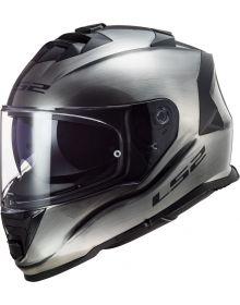 LS2 Assault Helmet Brushed Alloy