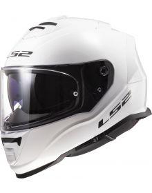 LS2 Assault Helmet Gloss White