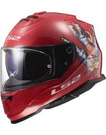 LS2 Assault Spark Helmet Matte Chili Pepper