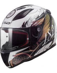LS2 Rapid Mini Dream Catcher Youth Helmet Chameleon/White