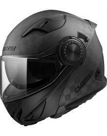 LS2 Vortex Modular Helmet Matte Carbon