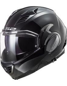 LS2 Valiant II Modular Helmet Gloss Black