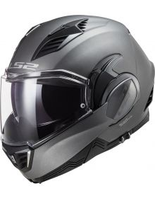 LS2 Valiant II Modular Helmet Matte Titanium