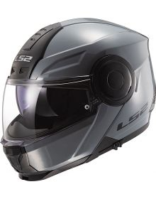 LS2 Horizon Modular Helmet Gloss Battleship Gray