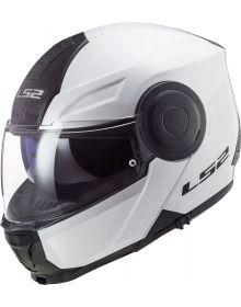 LS2 Horizon Modular Helmet Gloss White