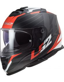 LS2 Assault Nerve Helmet Matte Black/Red