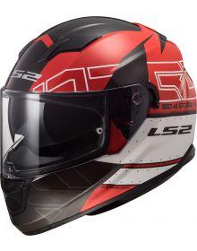 LS2 Stream Kub Helmet Black/Red