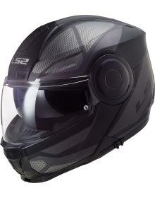 LS2 Horizon Axis Helmet Black/Titanium