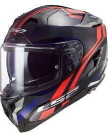 LS2 Challenger GT Propeller Helmet Red/Blue