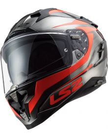 LS2 Challenger GT Cannon Helmet Jeans/Fluo Orange