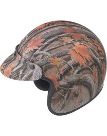 Gmax GM2 Youth Helmet Leaf Camo