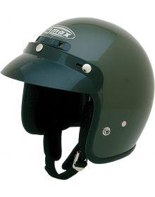 Gmax GM2 Youth Helmet ATV Flat Green