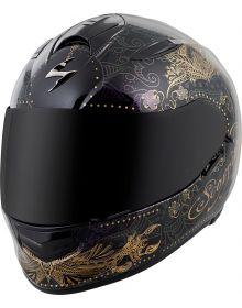 Scorpion EXO-T510 Azalea Helmet Black/Gold