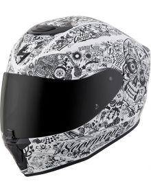 Scorpion EXO-R420 Helmet Shake White