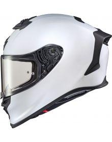 Scorpion EXO-R1 Air Helmet Solid Matte Pearl White