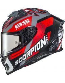 Scorpion EXO-R1 Air Helmet LE Quartararo Red