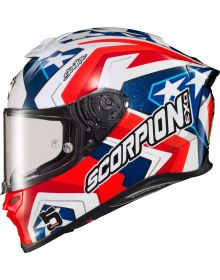 Scorpion EXO-R1 Air Helmet Bautista Red/White/Blue