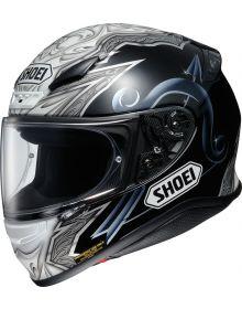 Shoei RF-1200 Helmet Diabolic Black/Blue TC-5