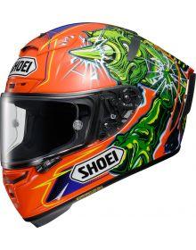 Shoei X-14 Helmet Power Rush TC-8