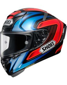 Shoei X-14 HS55 Helmet Red/Blue